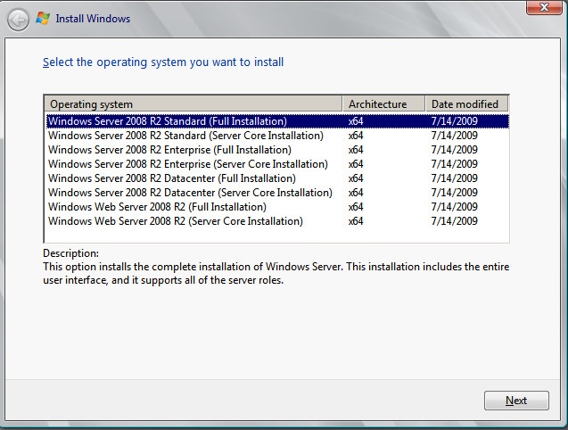 windows-2008-r2-versions