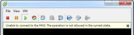 MKS error