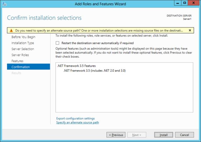 .net install error